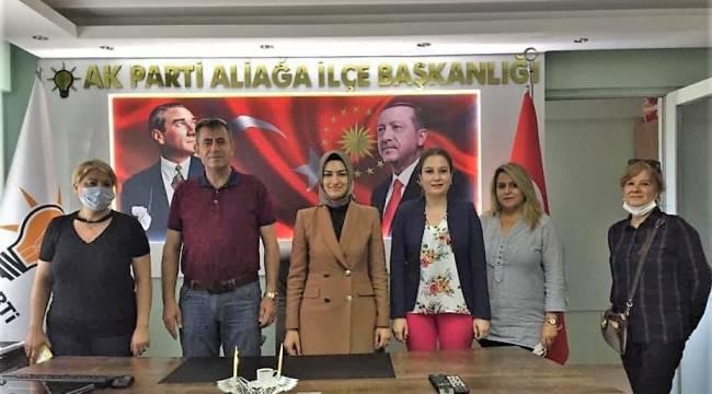 """CUMHURBAŞKANI ERDOĞAN'IN BAŞLATTIĞI """"GÖNÜL SEFERBERLİĞİ""""NE AK KADINLARDAN DESTEK"""