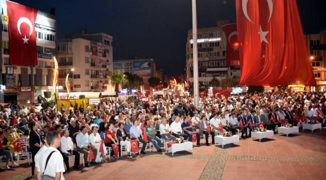 """ALİAĞA'DAKİ """"15 TEMMUZ""""PROGRAMI BELLİ OLDU"""